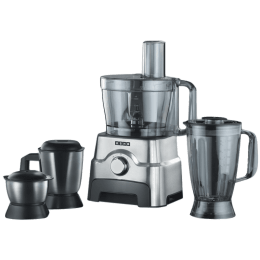 Usha 1000 Watt Food Processor (FP3811, Metallic)_1