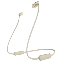Sony Bluetooth Earphones (WI-C310, Gold)_1