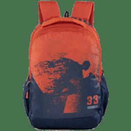 American Tourister Pop NXT 34 L Laptop Backpack (Pop NXT, Blue/ Rust)_1