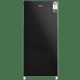 Haier 195 L 5 Star Direct Cool Single Door Refrigerator (HRD-1955CKG-E, Black)_1