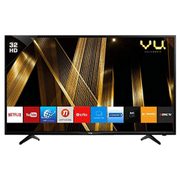 Vu 81 cm (32 inch) HD LED Smart TV (32OA, Black)_1