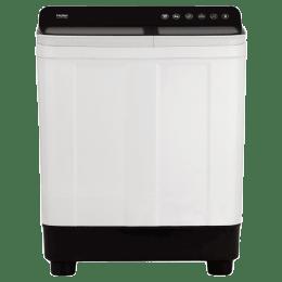 Haier 7 kg Semi Automatic Top Load Washing Machine (Vortex Pulsator, HTW70-178BK, Black/Dark Grey)_1