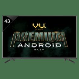 Vu 109 cm (43 inch) 4k Ultra HD LED Smart TV (43OA, Black)_1