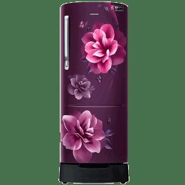 Samsung 230 L 3 Star Direct Cool Inverter Single Door Refrigerator (RR24R285ZCR/NL, Camellia Purple)_1