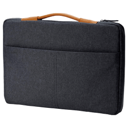 HP Envy Urban Laptop Sleeve with RFID Blocking Pocket for 39.62 cm Laptop (3KJ70AA, Grey)_1