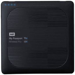 Western Digital My Passport Wireless Pro 4TB USB 3.0 External Hard Disk (WDBSMT0040BBK-BESN, Black)_1