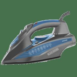 Black & Decker BXIR2001IN 2000 Watt Steam Iron (12939, Blue)_1