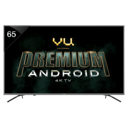 Vu 165 cm (65 inch) 4k Ultra HD LED Smart TV (65OA, Black)_1
