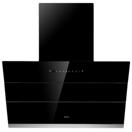 Elica 1100 m³/hr 90cm Filterless Chimney (LED Indicator, EFL S 901 HAC VMS, Black)_1