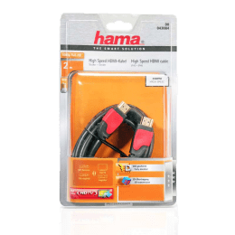 Hama 200 cm Gold Plated HDMI (Type-A) Cable (43084, Black)_1