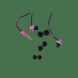 Croma In-Ear Wired Earphones (CREA7106, Pink)_1