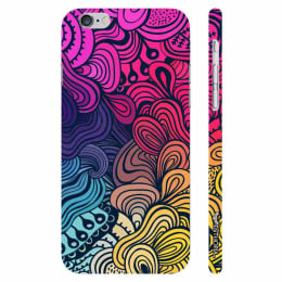 Enthopia Plastic Back Case Cover for Apple iPhone 6/6S (ED-5038, Multicolor)_1