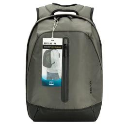 Belkin Slim Backpack for Laptop (XB1001, Grey)_1