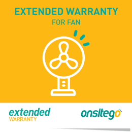 Onsitego 1 Year Extended Warranty for Fan (Rs.0 - Rs.2500)_1