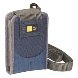 Case Logic Nylon Compact Camera Bag (DCB-27, Blue)_1