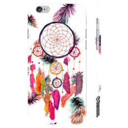 Enthopia Dream Catcher Art Plastic Back Case Cover for Apple iPhone 6 Plus (ED-5636 iPhn6+, White)_1