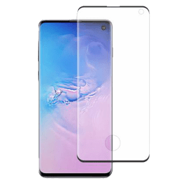 Stuffcool Mighty 3D Tempered Glass Screen Protector for Samsung Galaxy S10 (MGGP3DSGS10, Black)_1
