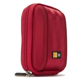 Case Logic Molded EVA Compact Camera Bag (QPB-201, Red)_1