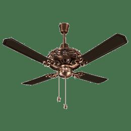 Anchor Dezire 120cm Sweep 3 Blade Ceiling Fan (Speed 360 RPM, 14027AC, Antique Copper)_1
