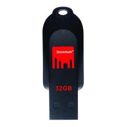 Strontium Pollex 32GB USB 2.0 Flash Drive (SR32GRDPOLLEX   Red/Black)_1