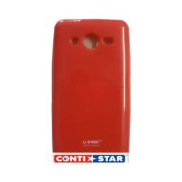 ContiStar Plastic Soft Back Case Cover for Samsung Galaxy Core Prime (Red)_1