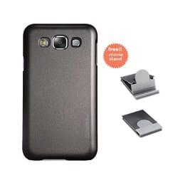Stuffcool Element Plastic Hard Back Case Cover for Samsung Galaxy E5 (EMSGE5-BLK, Black)_1