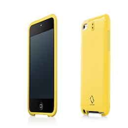 Capdase Polimor Plastic Back Case Cover for Apple iPod Touch 4 (PMIPT4-51EE, Yellow)_1