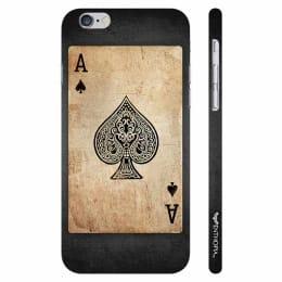 Enthopia Plastic Back Case Cover for Apple iPhone 6 Plus (ED-5300, Khaki/Black)_1