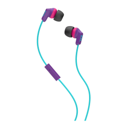 Skullcandy Whip In-Ear Wired Earphones with Mic (X2WHFY-843, Purple/Pink)_1