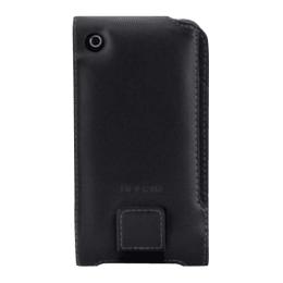 Belkin Leather Folio Full Cover for Apple iPhone 3G (XT4027, Black)_1