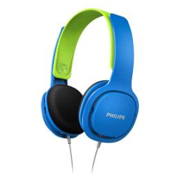 Philips SHK2000BL Kid's Headphone (Blue/Green)_1