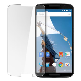 Stuffcool Tempered Glass Screen Protector for Motorola Nexus 6 (GPNX6, Transparent)_1