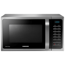 Samsung 28 Litres Convection Microwave Oven (Tandoor Technology, MC28H5025VS/TL, Silver)_1