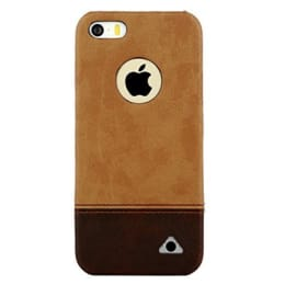 Stuffcool Vogue PU Leather Back Case Cover for Apple iPhone 5S (VGIP5S-DBRN, Brown)_1