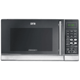 IFB 25 litres Double Grill Convection Microwave Oven (25DGSC1, Metallic Silver)_1