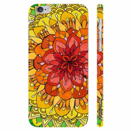Enthopia Polycarbonate Back Case Cover for Apple iPhone 6 (ED-5204, Multicolor)_1