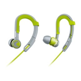 Philips In-Ear Wired Earphones (SHQ3300LF, Lime Yellow/White)_1