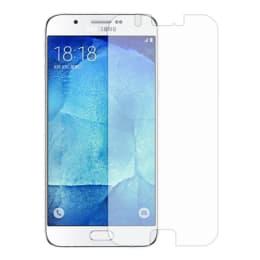 Stuffcool Supertuff Tempered Glass Screen Protector for Samsung Galaxy A8 (GPSGA8, Transparent)_1