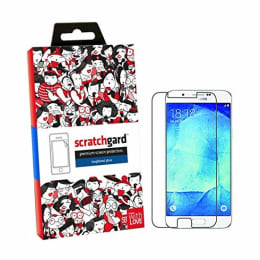 Scratchgard Tempered Glass Screen Protector for Samsung Galaxy A8 (Clear)_1