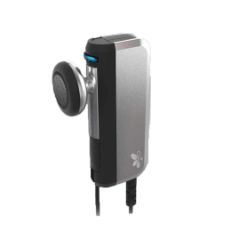 iTech In-Ear Handsfree (VoiceClip 604, Grey/Black)_1