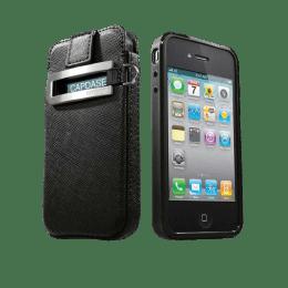 Capdase Full Cover Case for Apple iPhone 4 (SLIH4S-V111, Black)_1