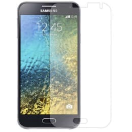 Stuffcool Supertuff Tempered Glass Screen Protector for Samsung Galaxy E5 (GPSGE5, Transparent)_1