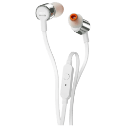 JBL In-Ear Wired Earphones with Mic (T210, Grey)_1