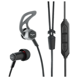 V-Moda Forza In-Ear Wired Earphones for Android Devices with Mic (Black)_1