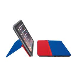 Logitech Any Angle Flip Case for Apple iPad Mini (939-001160, Red/Blue)_1