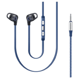 Samsung In-Ear Wired Earphones with Mic (EO-IA510BLEGIN, Blue)_1