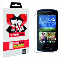 Scratchgard Twin Pack Screen Protector for HTC Desire 326G (Transparent)_1