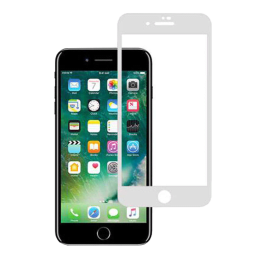 Stuffcool 3D Full Screen Tempered Glass Screen Protector for Apple iPhone 8 Plus (MGGP3DIP8P, White)_1