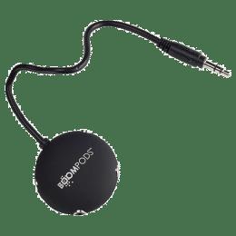 Boompods 25 cm 3.5mm Stereo Audio Splitter for Aux Cable (BP-MLTP-DG, Grey)_1