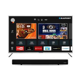 Blaupunkt 127 Cm (50 Inch) Full HD LED Smart TV (Metallic Space Grey & Black, BLA50AS570)_1